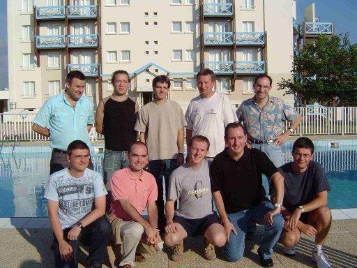 Les 10 participants de la Finale du Grand Prix 2005